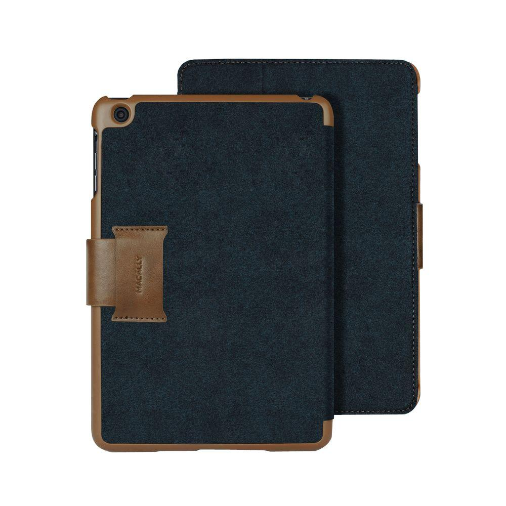 Ultra Slim Protective Case and Stand Design for iPad Mini 3, 2 and 1 Generation - Blue, Blue/Soft Rubber Finish