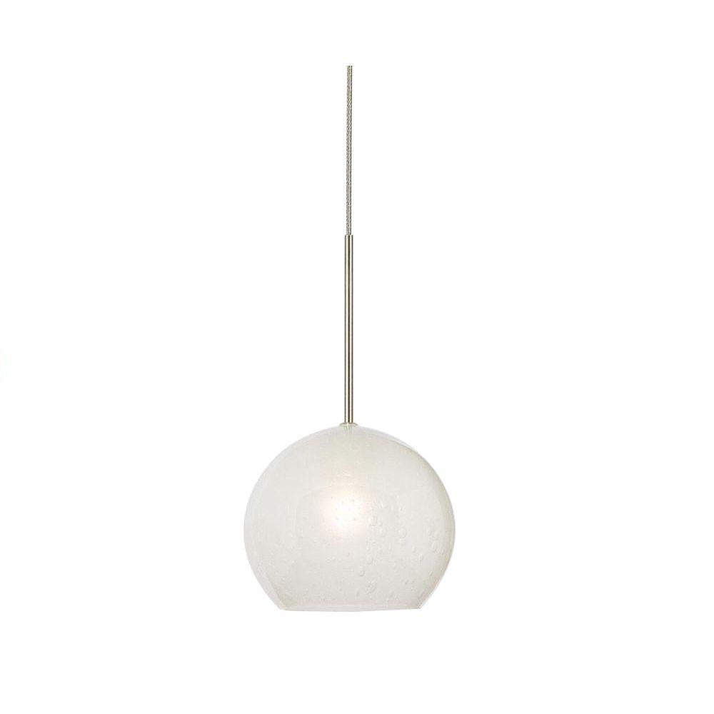Filament Design Cypress Satin Nickel Mini Pendant
