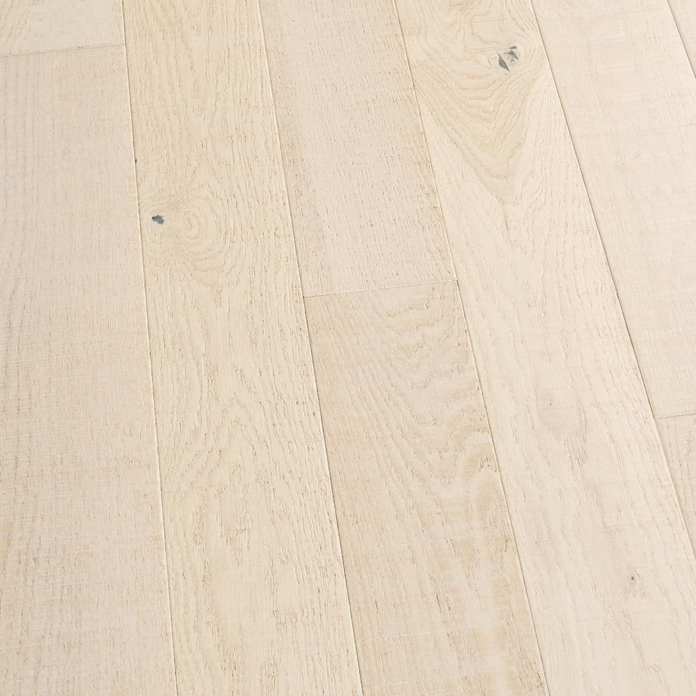 Malibu Wide Plank Take Home Sample French Oak Light House Solid Hardwood Flooring 5