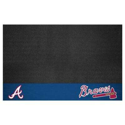 Atlanta Braves 26 in. x 42 in. Grill Mat