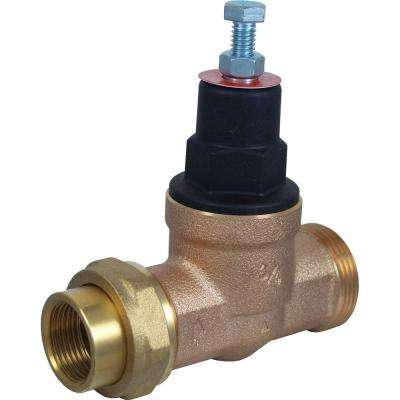 3/4 in. Bronze EB-45 Single Union x Female Pipe Thread Pressure Regulating Valve
