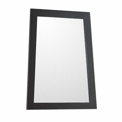 Lorenzo 22 in. W x 28 in. H Framed Trapezoid Bathroom Vanity Mirror in Espresso