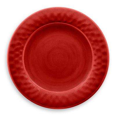 Crackle Red Dinner Plate (Set of 6)