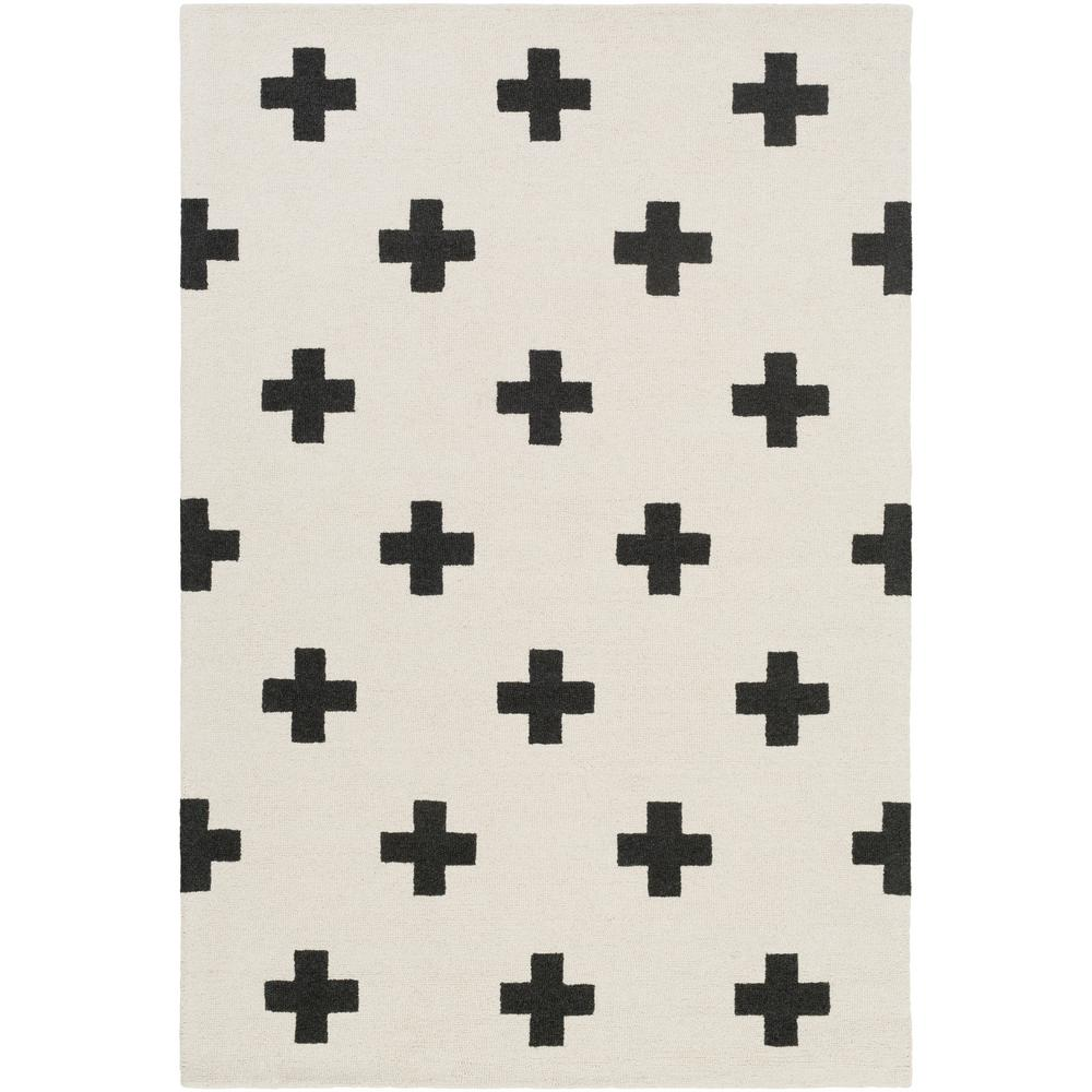Artistic Weavers Hilda Monica Ivory 8 ft  x 11 ft  Indoor Area Rug