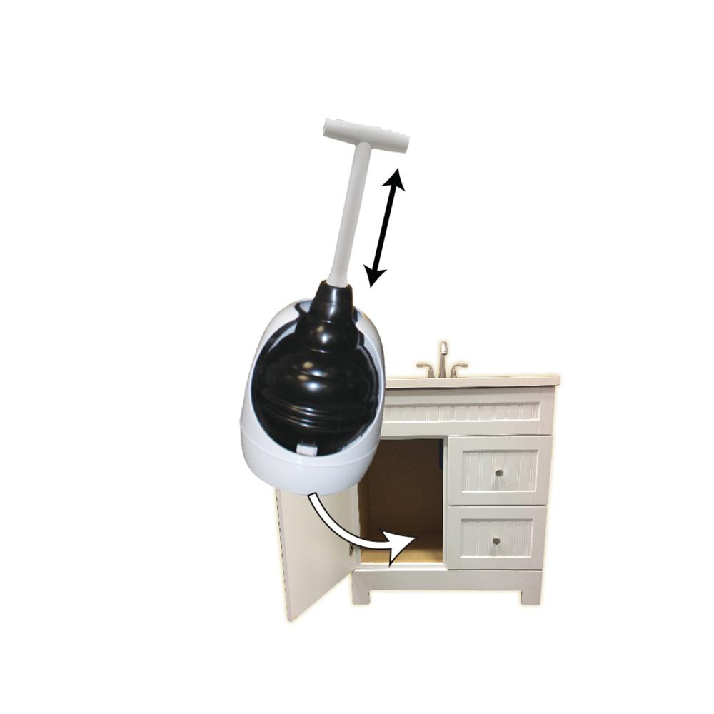 Lavelle 95-4A toilet plunger With holder