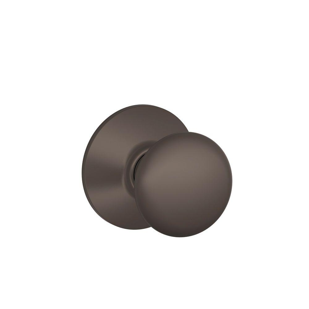 Schlage Plymouth Oil-Rubbed Bronze Hall and Closet Knob