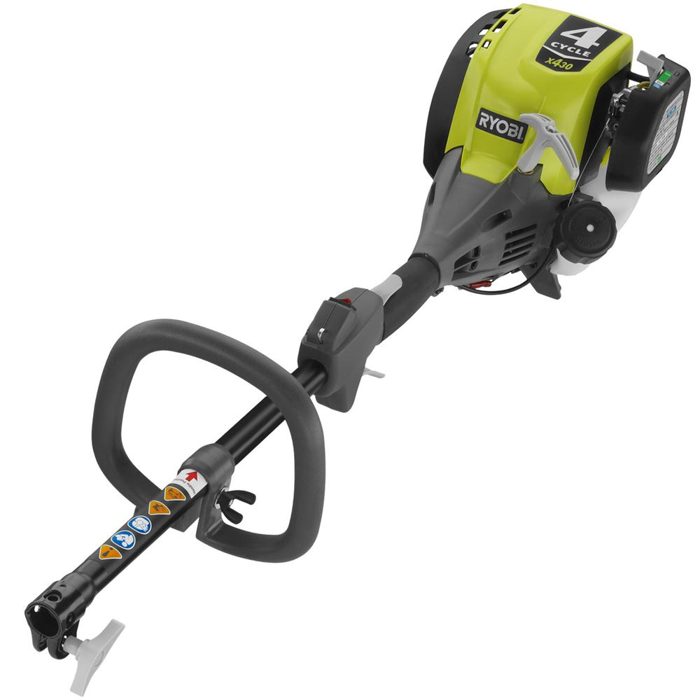 Ryobi expand it 4 cycle 30cc gas power head trimmer ry4cph - Ryobi expand it ...