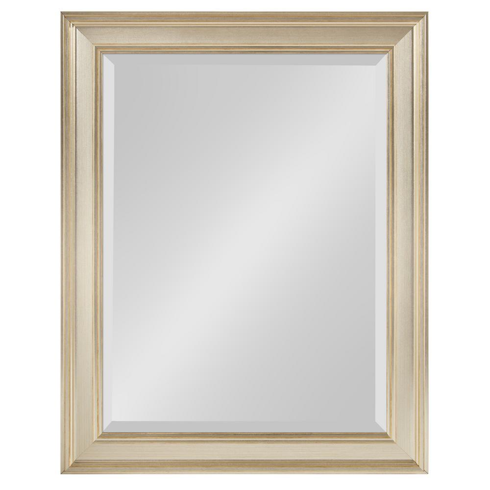 Corrigan Rectangle Silver Wall Mirror