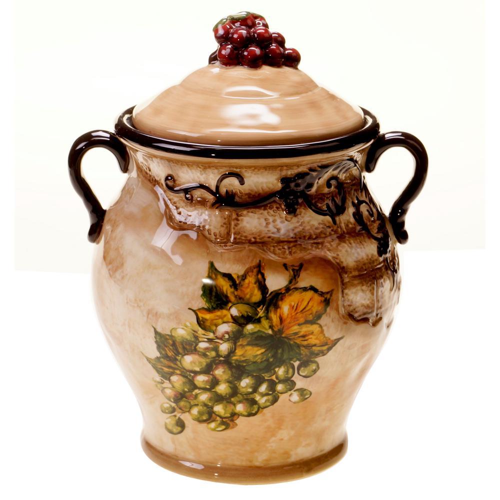 Tuscan View 1-Piece Biscotti Jar