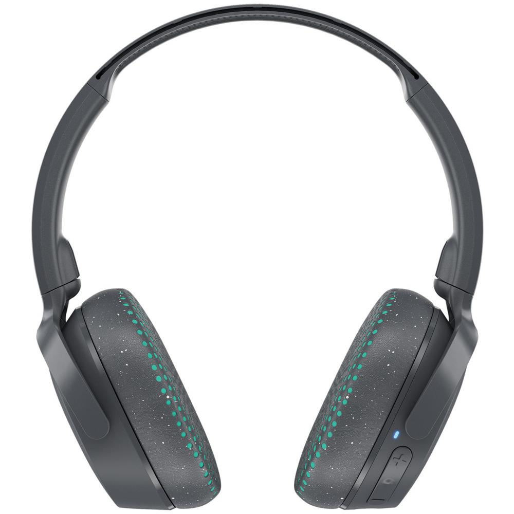 Riff Wireless On-Ear Headphones with Microphone in Gray Riff Wireless On-Ear Headphones with Microphone in Gray