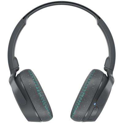 Riff Wireless On-Ear Headphones with Microphone in Gray