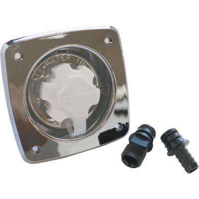 90° Port Flush 45 PSI Water Pressure Regulator,Chrome