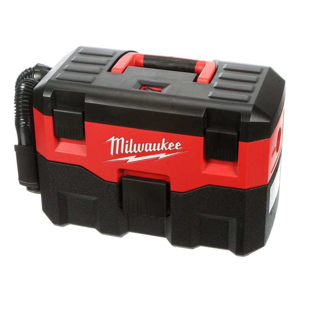 Milwaukee M18 2 gal. 18-Volt Lithium-Ion Cordless Wet/Dry Vacuum (Tool-Only)