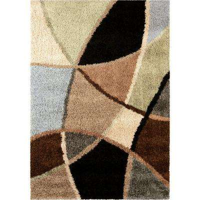 Divulge Blue 6 ft. 7 in. x 9 ft. 8 in. Indoor Area Rug