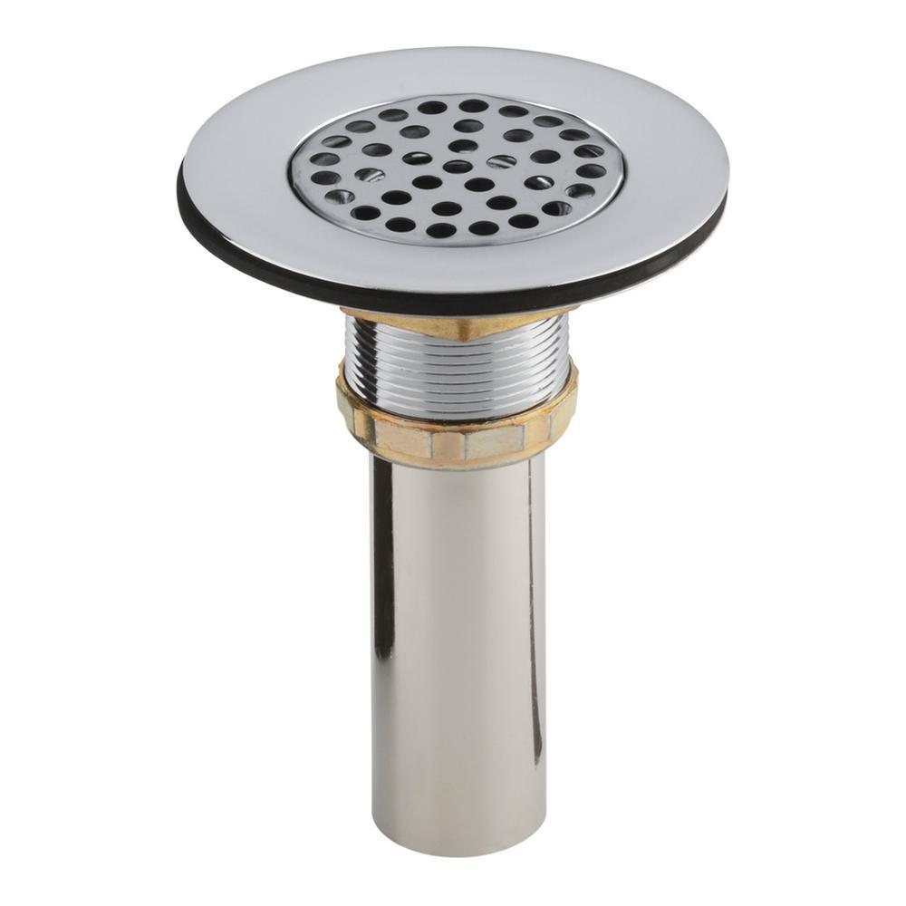 KOHLER 4-1/2 in. Sink Strainer in Chrome