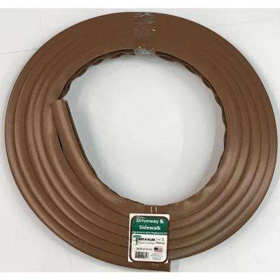 1 in. x 25 ft. Concrete Expansion Joint Replacement in Walnut