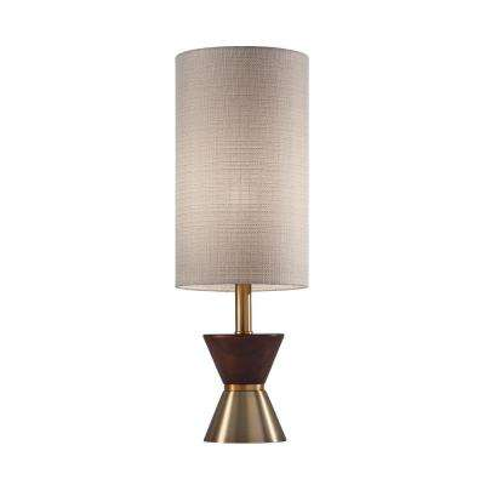 Carmen 23 in. Brass Table Lamp