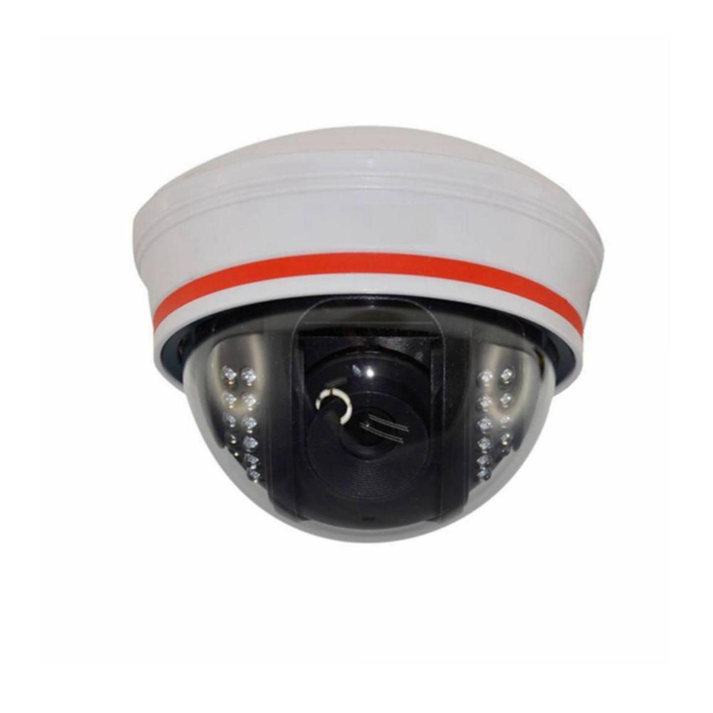 SeqCam Wired Dome IP Indoor/Outdoor Standard Surveillance Camera