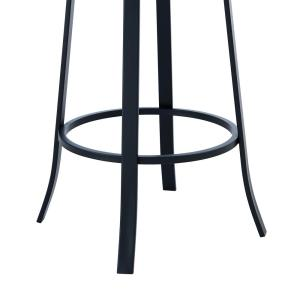 Astounding Armen Living Lotus Contemporary 30 In Bar Height Barstool Onthecornerstone Fun Painted Chair Ideas Images Onthecornerstoneorg