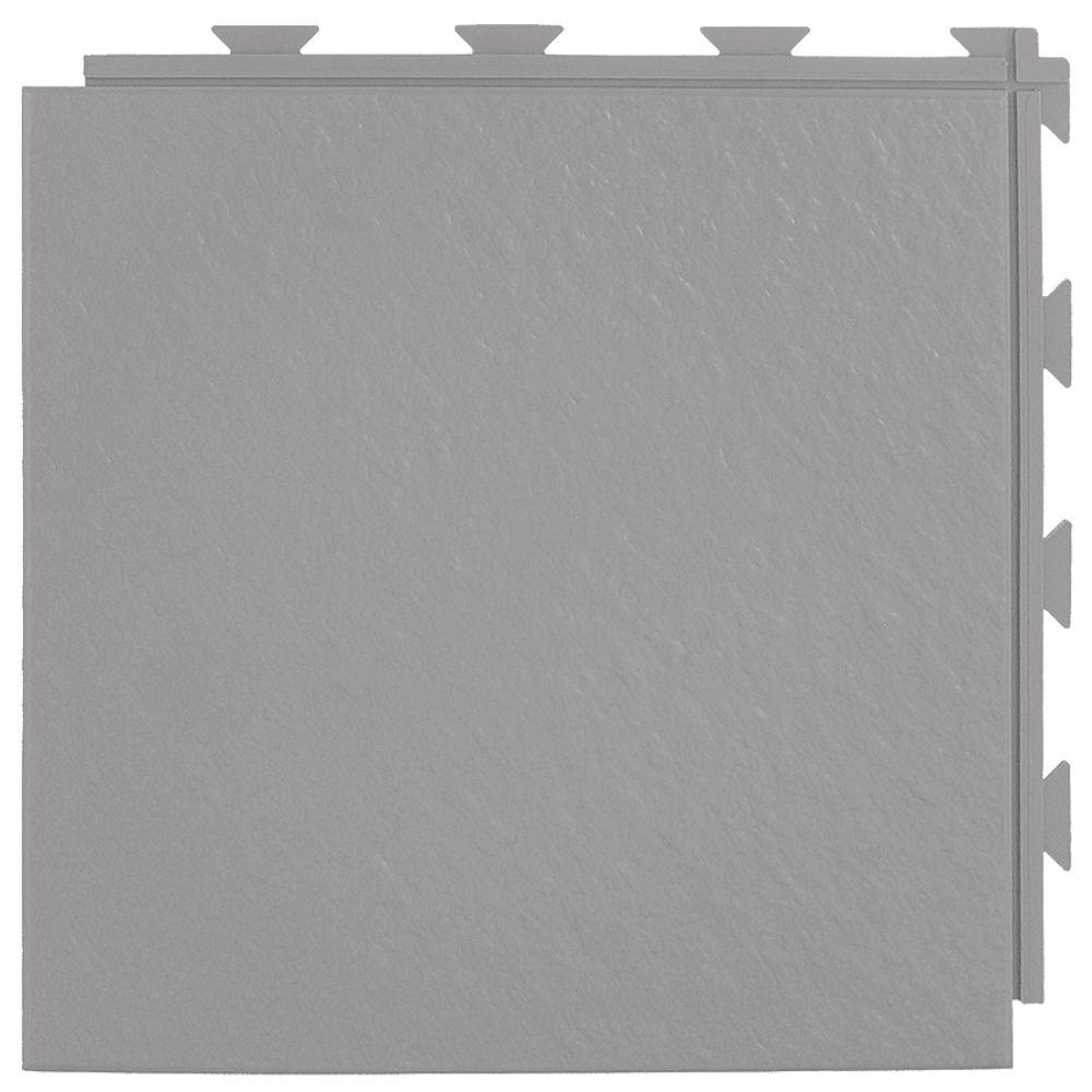 Hiddenlock Slate Top Gray 12 in. x 12 in. x 1/4