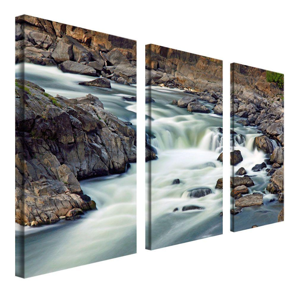 12 in. x 24 in. A Treasure 3-Piece Canvas Art Set
