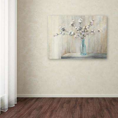 "35 in. x 47 in. ""Cotton Bouquet"" by Julia Purinton Printed Canvas Wall Art"
