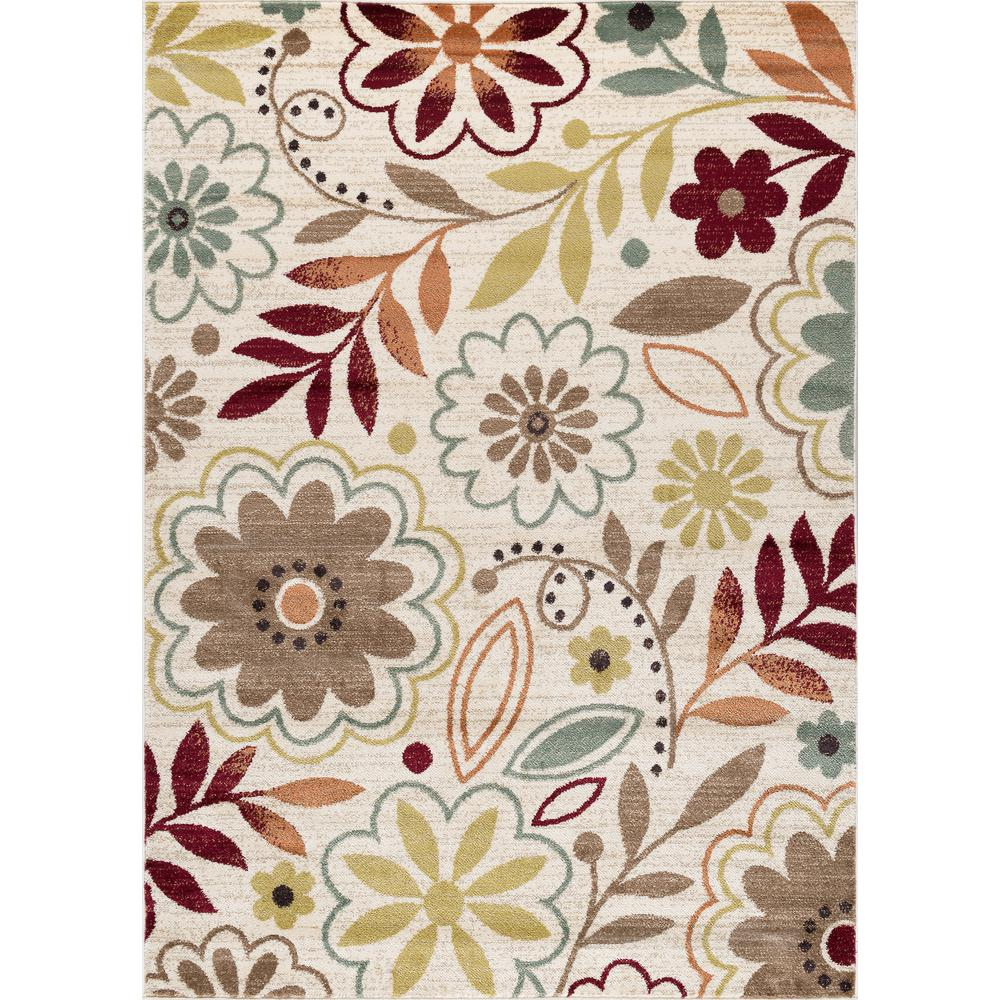 This Review Is From Deco Ivory 7 Ft 10 In X 3 Transitional Area Rug
