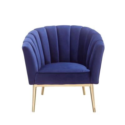 Colla Blue Accent Chair