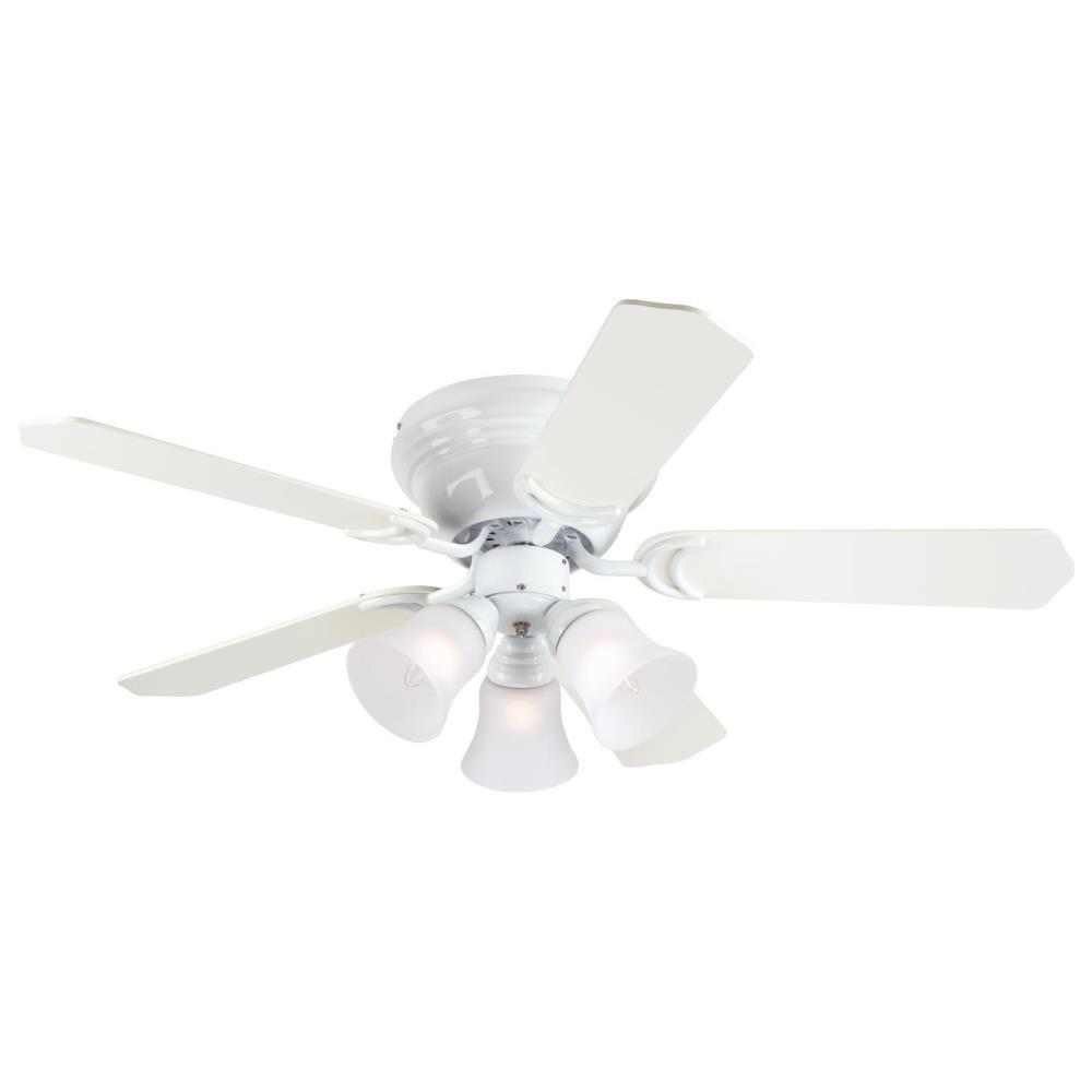Westinghouse contempra trio 42 in white ceiling fan 7215000 the westinghouse contempra trio 42 in white ceiling fan mozeypictures Choice Image