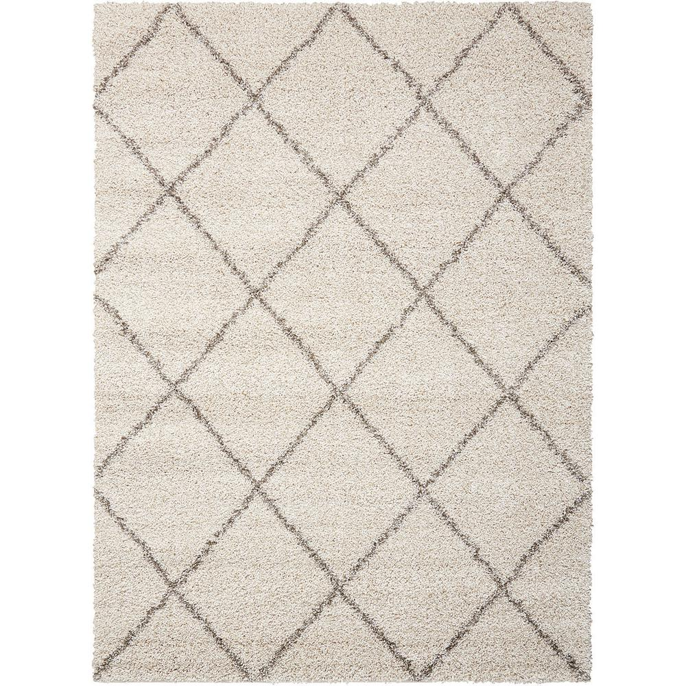 Brisbane Shag Cream 5 ft. x 7 ft. Area Rug