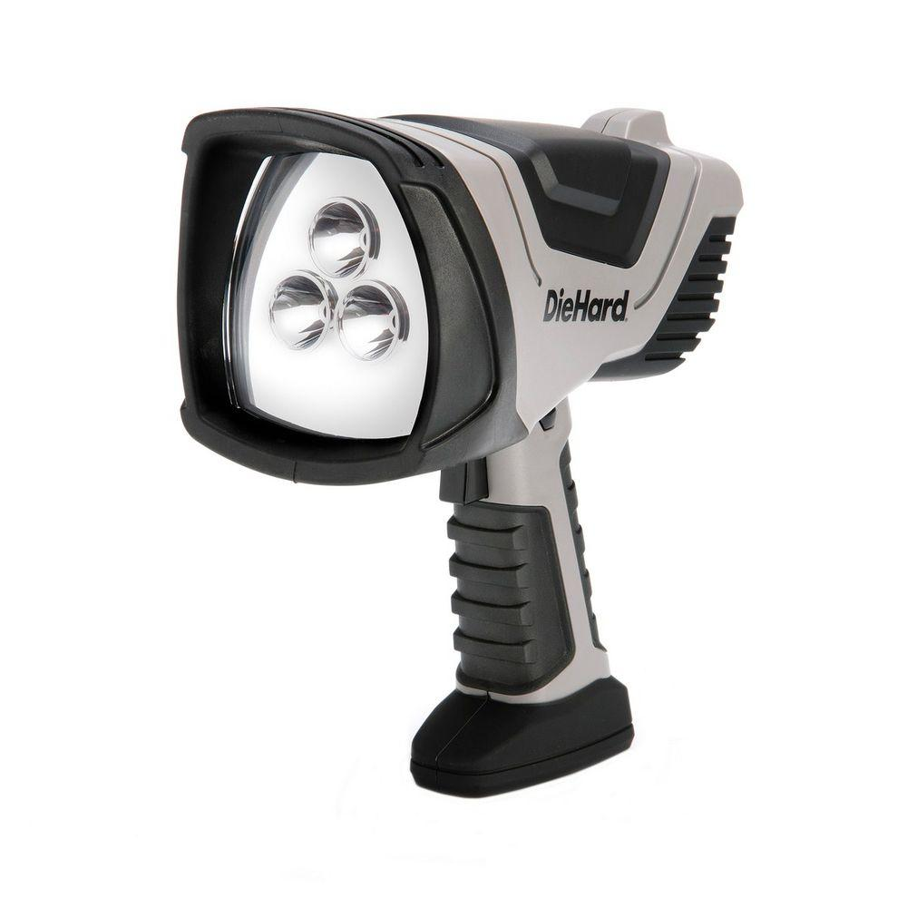Dorcy Die-Hard Rechargeable Pistol Grip LED Spotlight