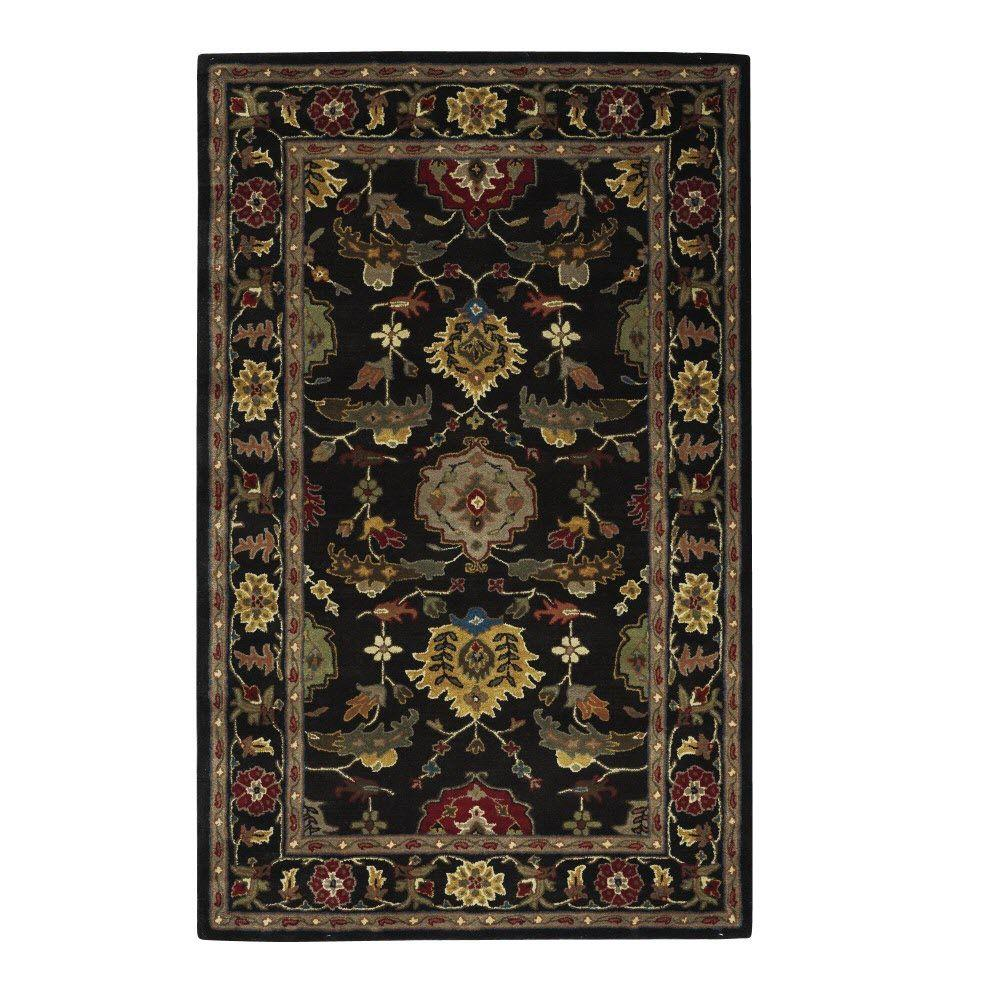 Home Decorators Collection Highness Deep Charcoal 8 ft. x 11 ft. Area Rug
