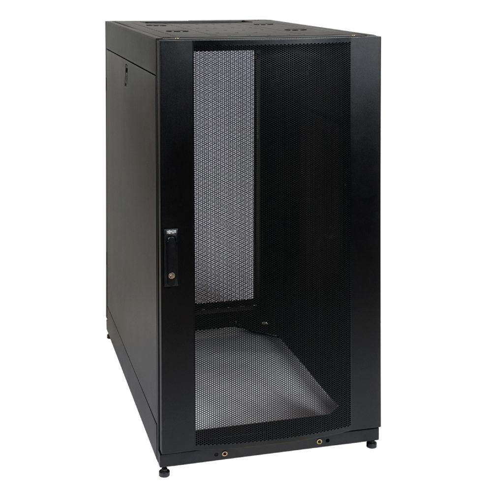 Tripp Lite 25U Rack Enclosure Server Cabinet Doors and Sides 3000 lb. Capacity
