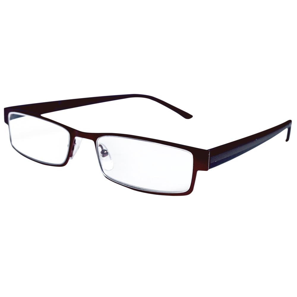 Magnifeye Reading Glasses Modern Bronze 1.25 Magnification