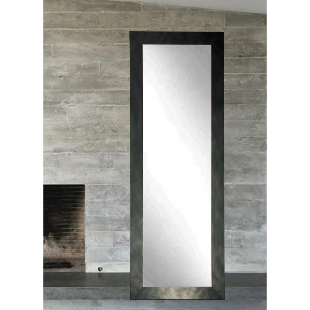 full length wall mirror Clouded Gunmetal Full Length Wall Mirror BM25THIN   The Home Depot full length wall mirror