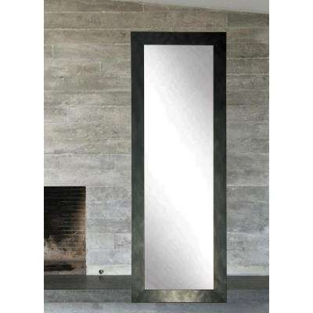 Clouded Gunmetal Full Length Wall Mirror