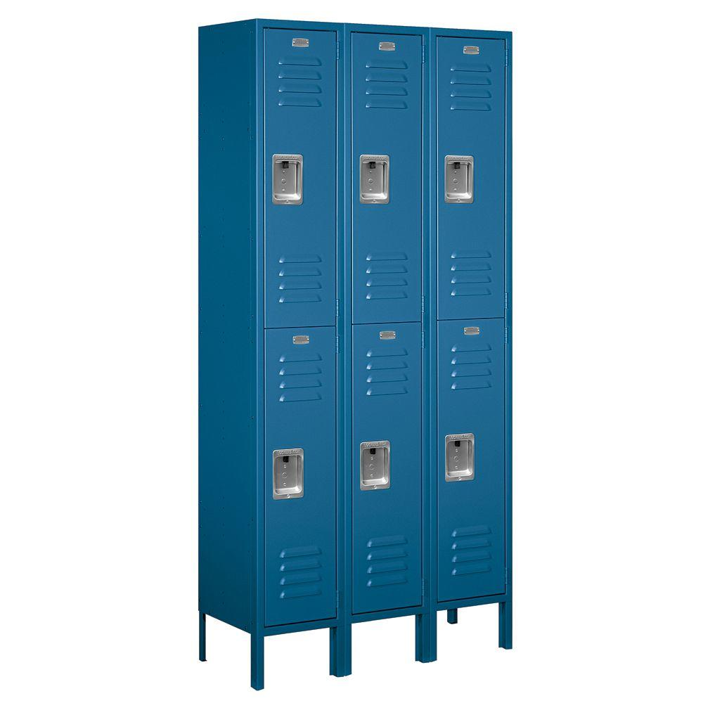 metal lockers for home salsbury industries 62000 series 36 in w x 78 in h x 12 23269