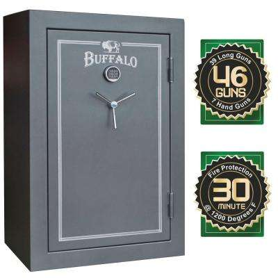 46-Gun 23 cu. ft. Electric Lock Fire Resistant Gun Safe with Premium Door Organizer