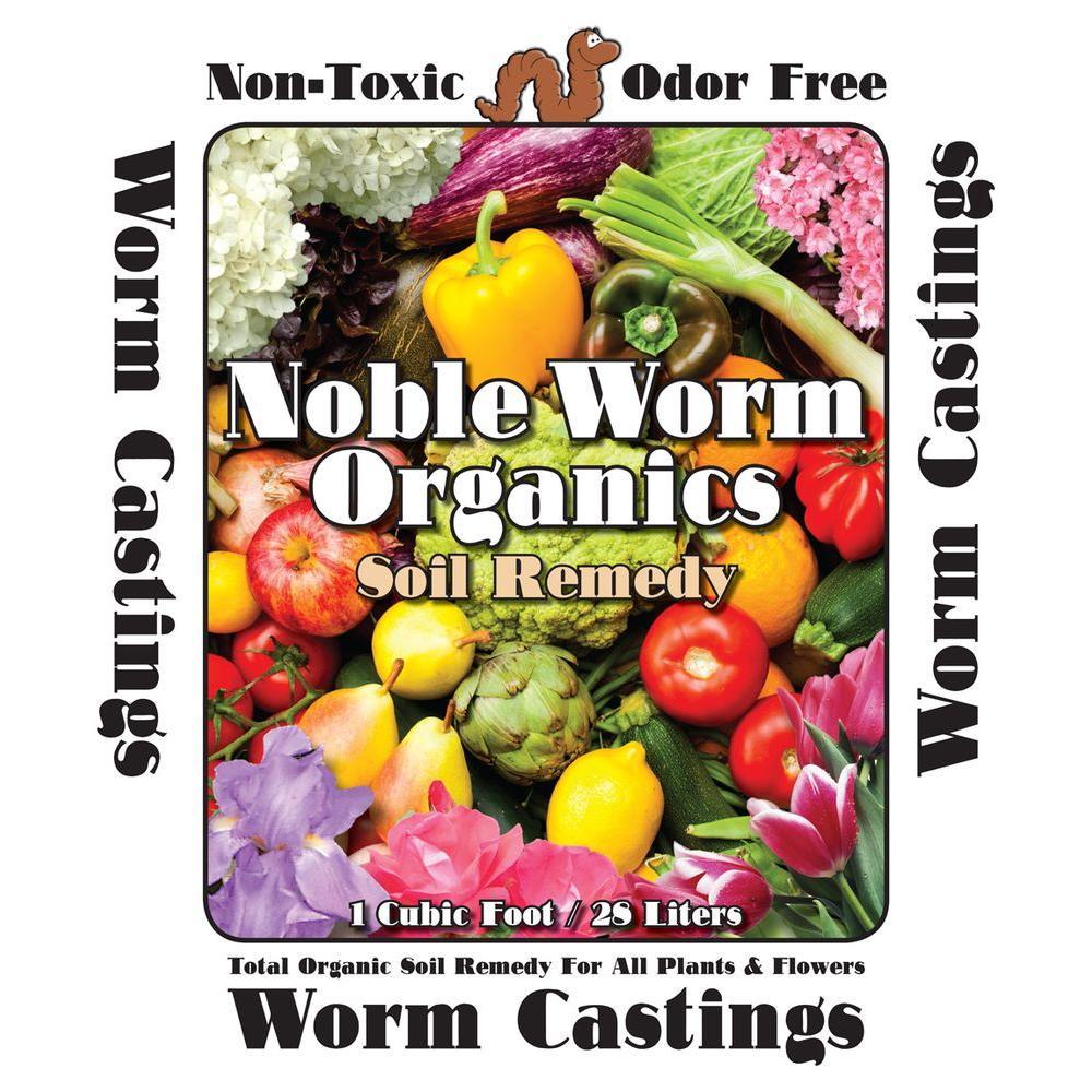 1 cu. ft. / 25 lb. Organic Worm Casting Soil