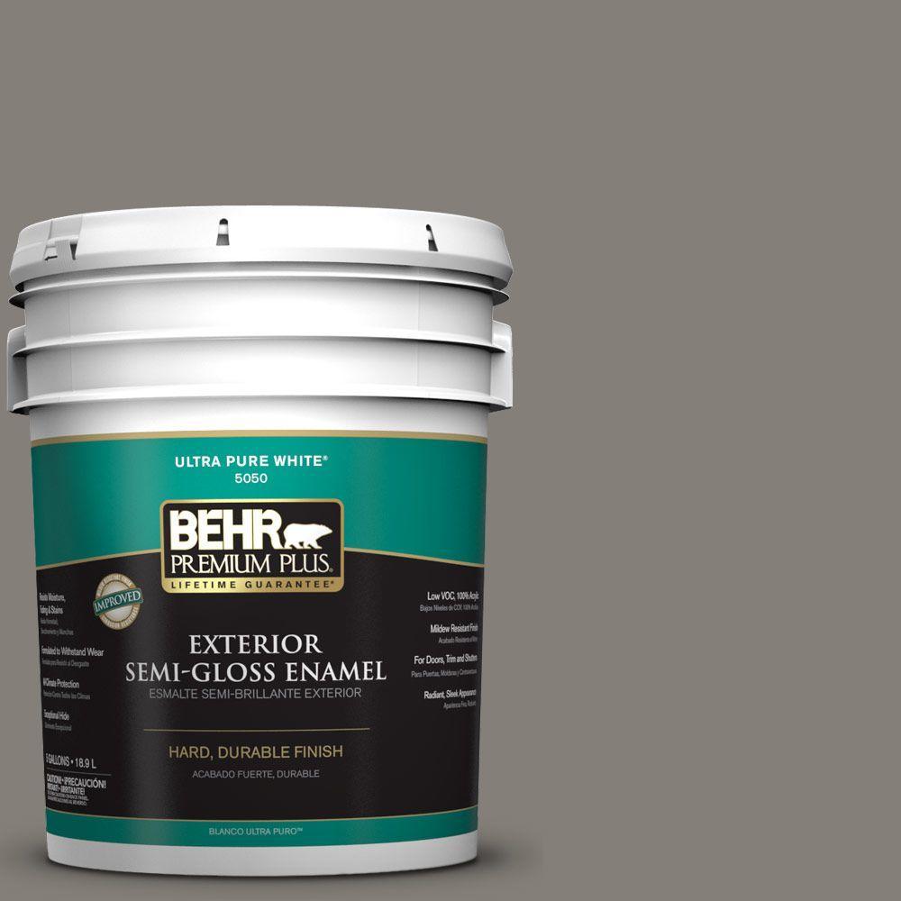 5-gal. #N360-5 Mossy Oak Semi-Gloss Enamel Exterior Paint