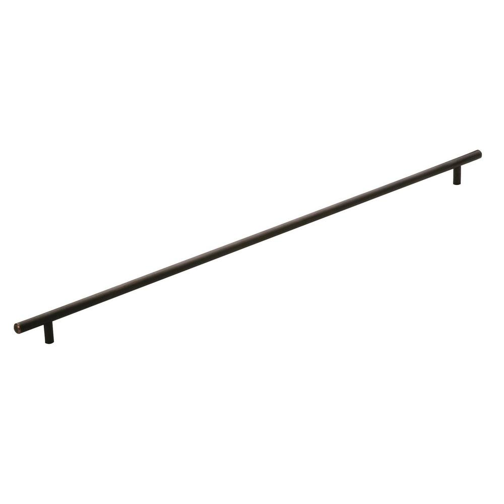 Amerock Bar Pulls 25-3/16 in (640 mm) Center-to-Center Oil-Rubbed Bronze Cabinet Drawer Pull