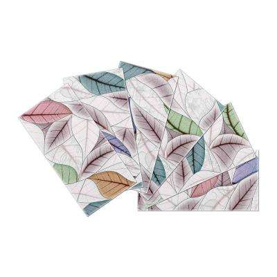 3 in. x 6 in. x 2mm Skinny Crystal Glass Skin Wall Mosaic Tile (6 sq. ft. / case)