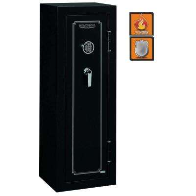 8-Gun Electronic Lock, Matte Black