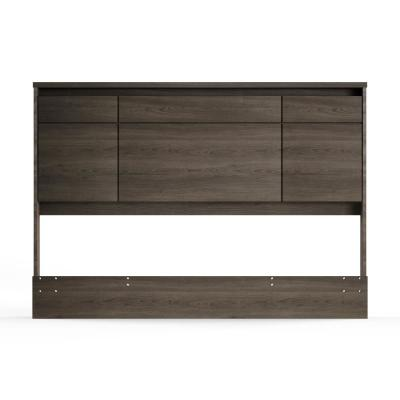 Gravity Gray Maple Queen Headboard