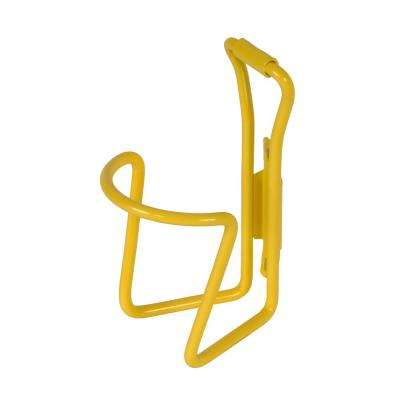 Alloy Bicycle Water Bottle Cage in Yellow