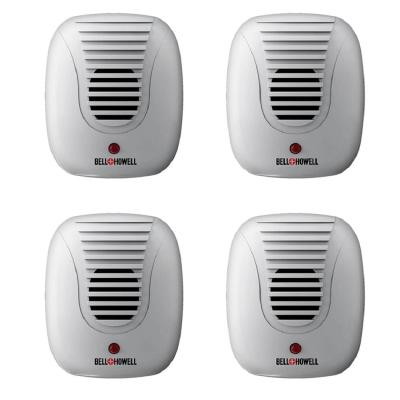 Classic Ultrasonic Electronic Indoor Pest Repeller (4-Pack)