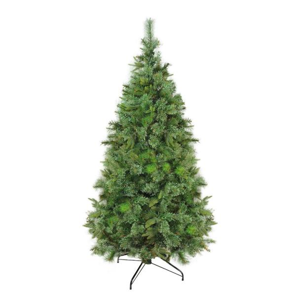 9.5 ft. x 67 in. Cashmere Mixed Pine Full Unlit Artificial Christmas Tree