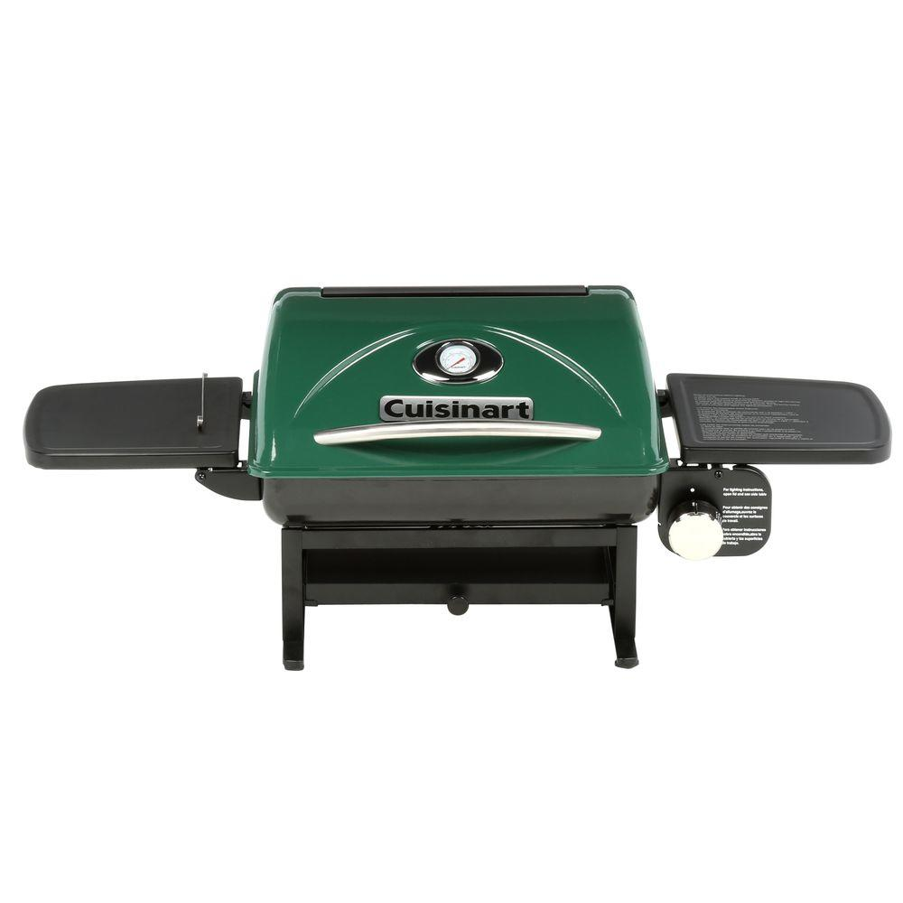 Charmant Cuisinart 1 Burner Everyday Portable Propane Gas Grill In Green