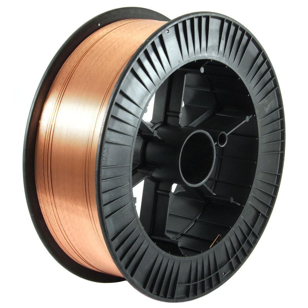 0.035 Dia E70S-6 Mild Steel MIG Wire 33 lb. Spool