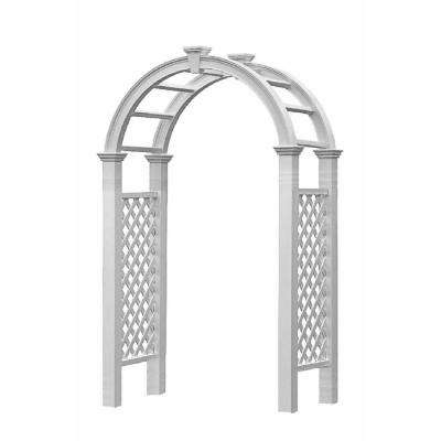 Nantucket Legacy 102.5 in. x 60 in. Vinyl Arbor